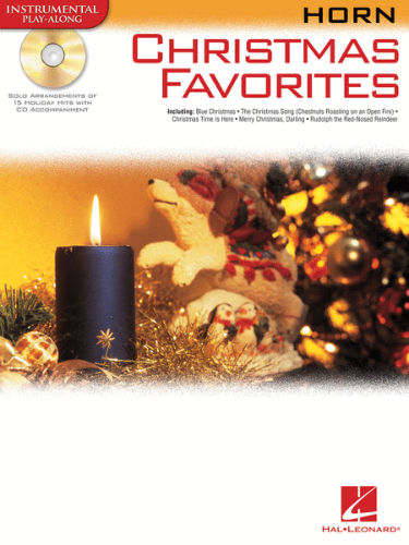 Christmas Favorites Playalong for French Horn Book and CD