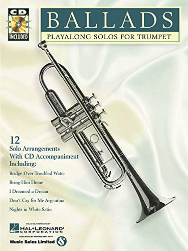 Ballads Playalong Solo for Trumpet Book and CD