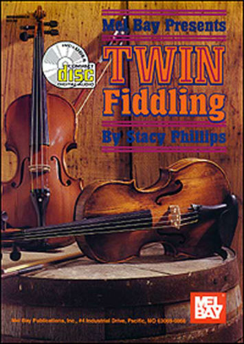 Twin Fiddling Book and CD