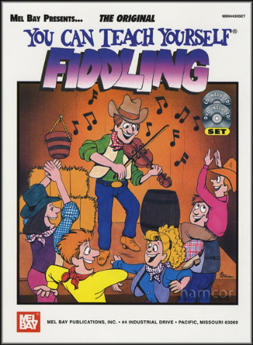 You Can Teach Yourself Fiddling Book and DVD/CD