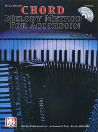Chord Melody Method for Accordion ( Piano ) Book and CD