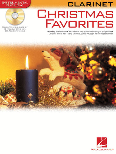 Christmas Favorites Playalong for Clarinet Book and CD
