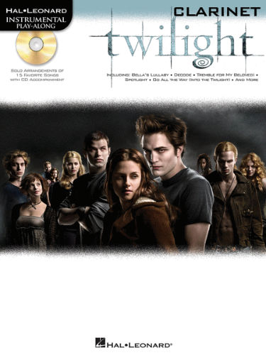 Twilight Instrumental Playalong for Clarinet Book and CD