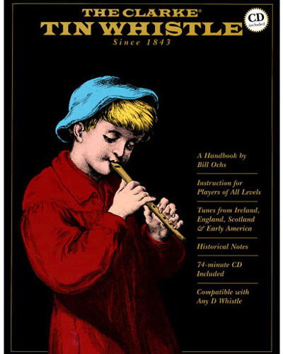 The Clarke Tin Whistle Book and CD
