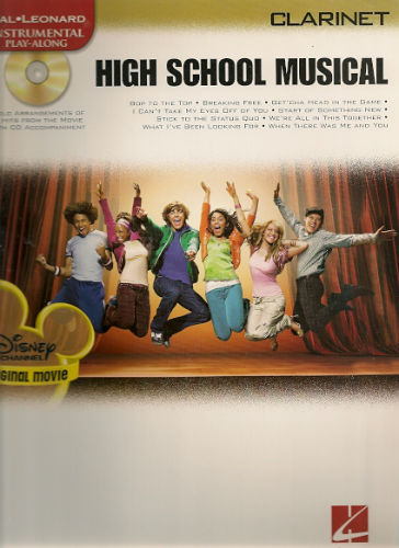 High School Musical Clarinet Book and CD