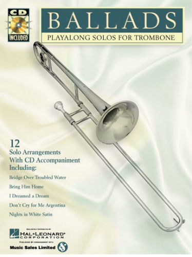 Ballads Playalong Solo for Trombone Book and CD