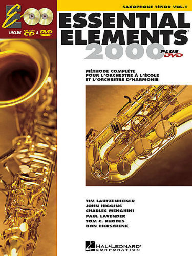 Essential Elements 2000 Tenor Saxophone Book CD/DVD
