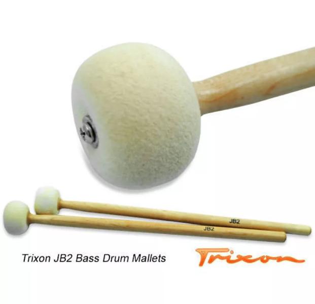 Trixon JB2 Bass Drum Mallets - Medium