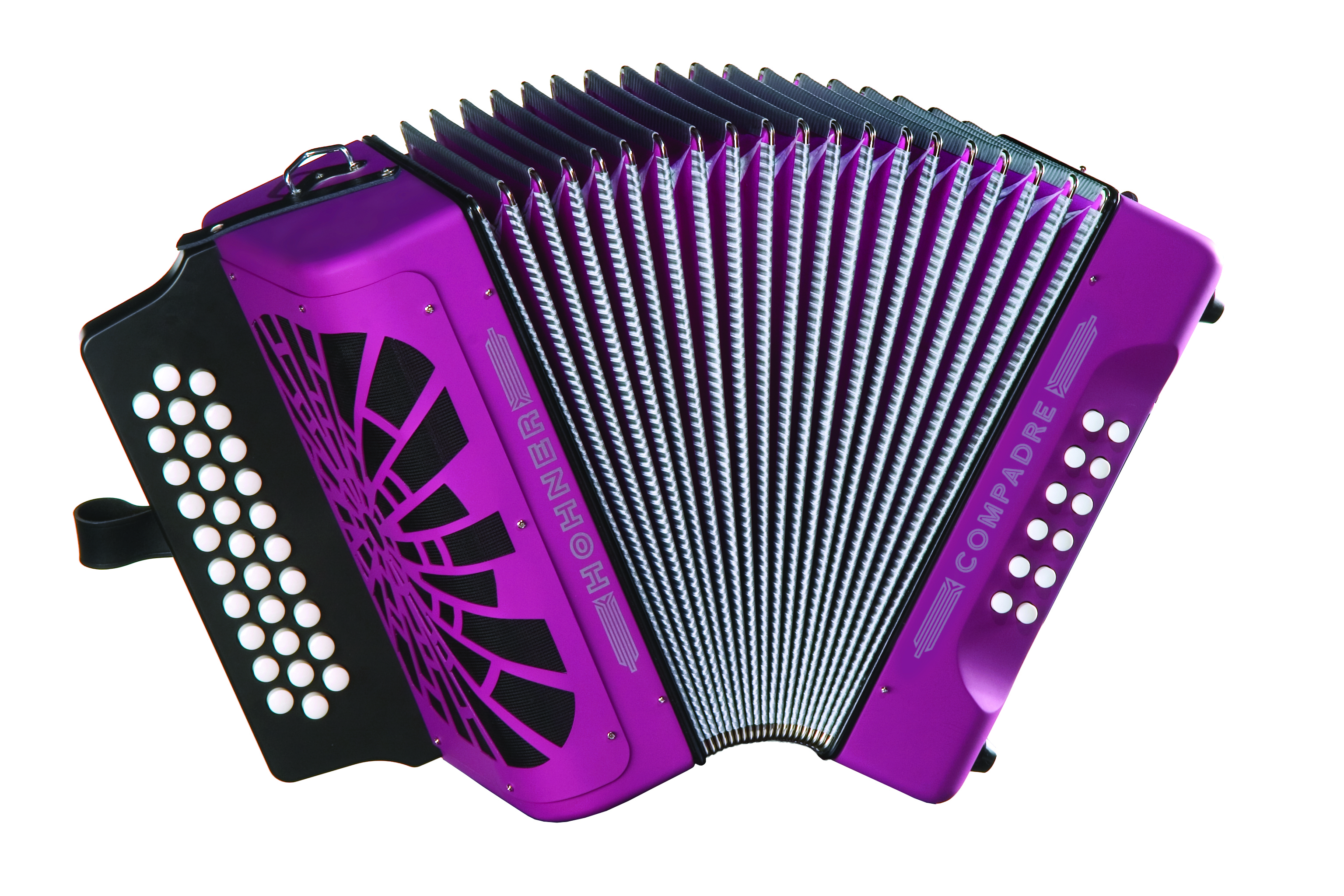 Hohner Compadre FBbEb, Violet with Gig Bag