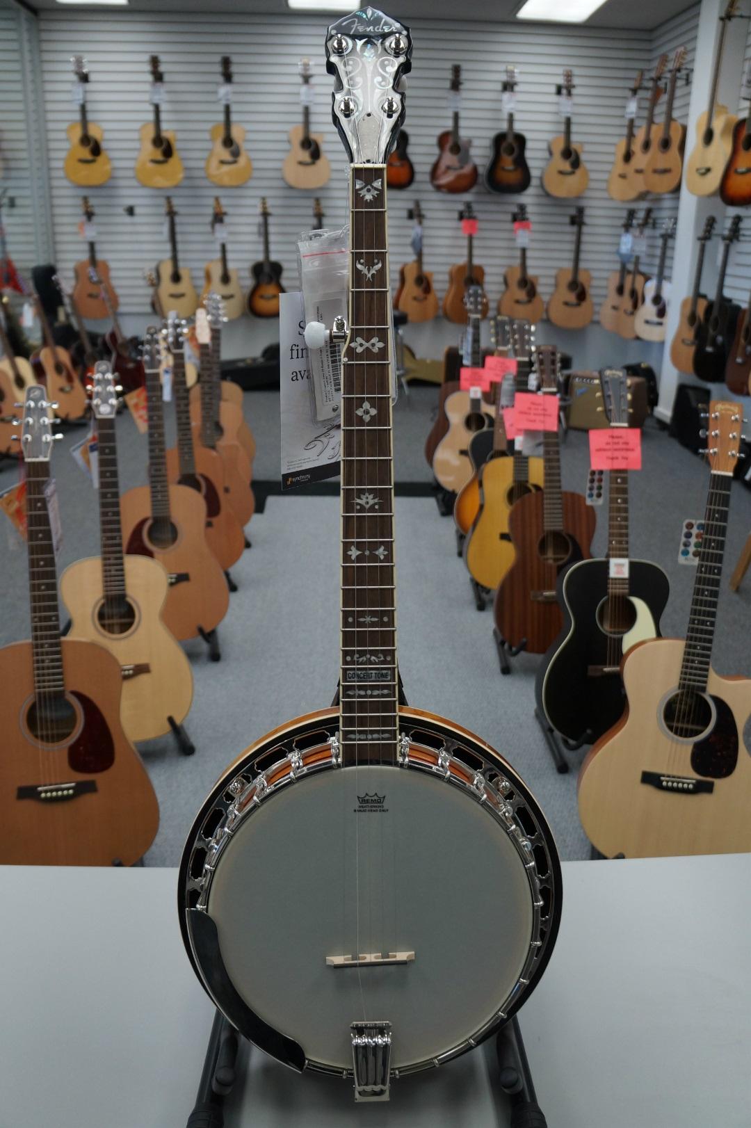 Fender® FB-55 Concert Tone 55 Banjo - Sunburst
