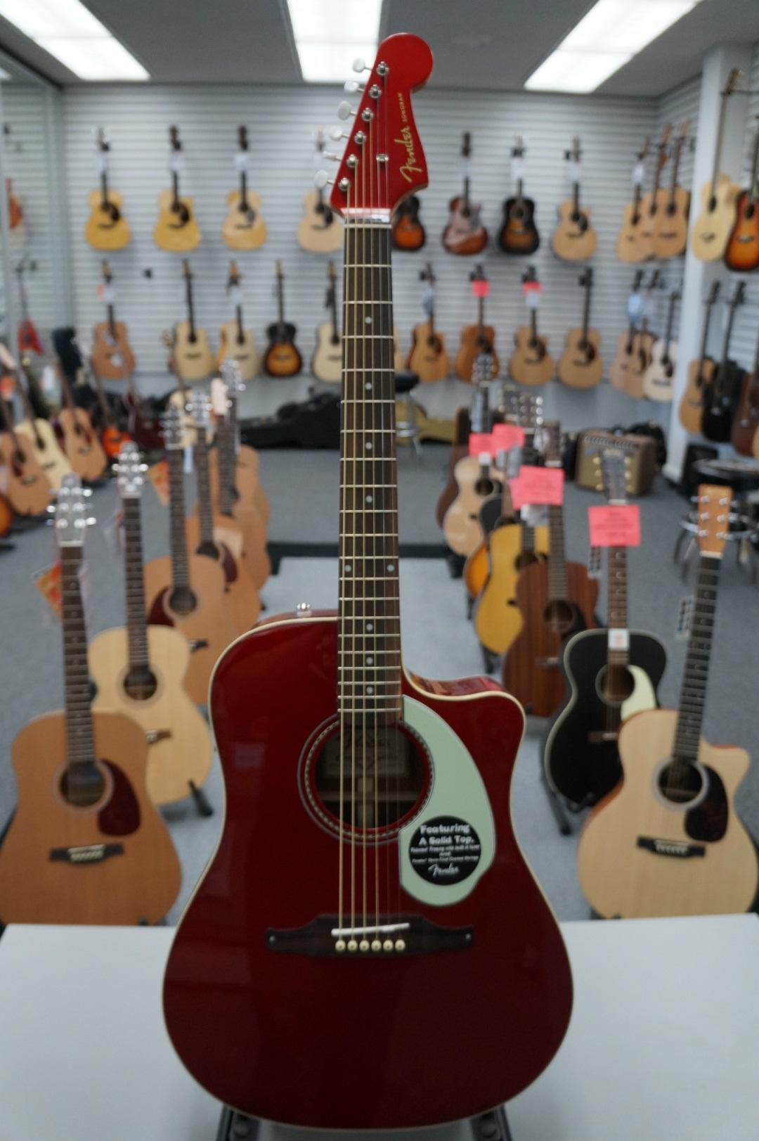 Fender Sonoran SCE CAR V2 Acoustic Guitar