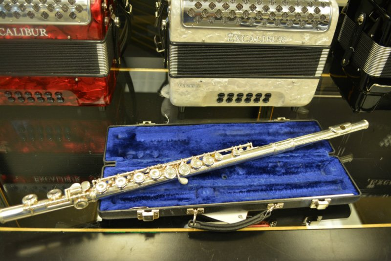 Emerson Silver Plated Flute