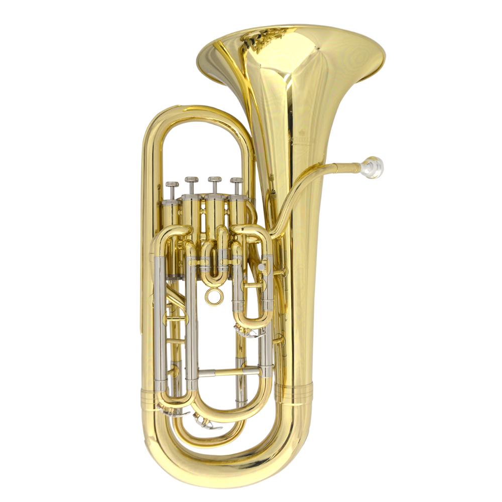 Schiller Elite IV Euphonium Gold Lacquer Inline