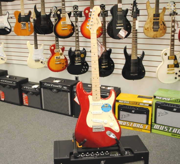 Fender Squier Affinity Strat Bright Red [Demo Model]