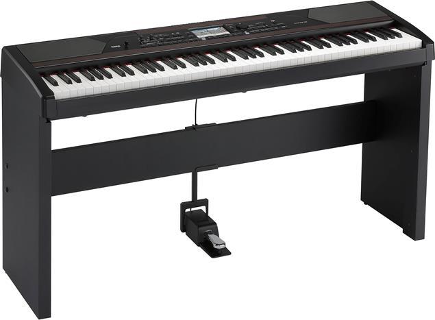 Korg Havian 30 Digital Piano Ensemble w/Touch View Screen, Black