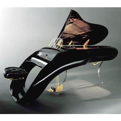 Schimmel K208 Pegasus Oval Art Grand Piano