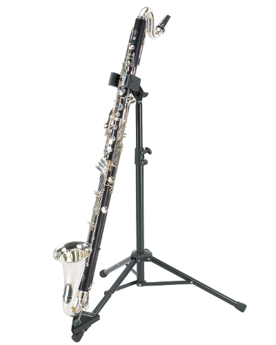 K&M 15060 Bass Clarinet Stand Black