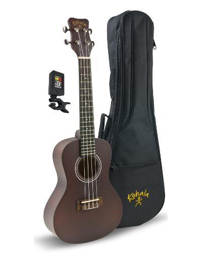 Kohala KPP-C Kohala Concert Player's Pack with Uke, Bag, Tuner