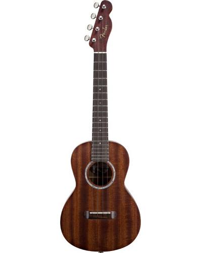 Fender® Pa'ina Tele® Acoustic-Electric Concert Ukulele Solid Mahogany
