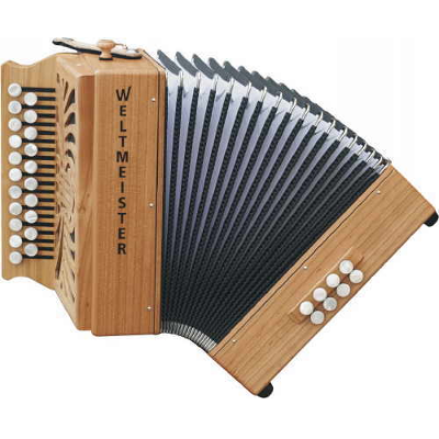 Weltmeister Wiener 512 Diatonic ( Button ) Accordion