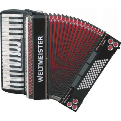 Weltmeister Monte Classic 34 Piano Accordion 34/72/III/5/3