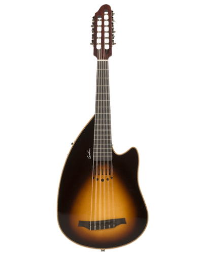 Godin Inuk Ambiance Steel Sunburst Acoustic Electric with Custom EQ
