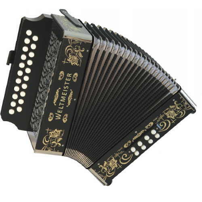Weltmeister Wiener 86W Diatonic ( Button ) Accordion