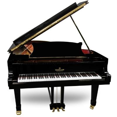 Schiller Concert 5.10 Grand Piano - Ebony Polish
