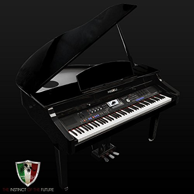 Medeli 1000 Digital Grand Piano - Ebony Polish