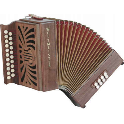 Weltmeister Wiener 516 Diatonic ( Button ) Accordion