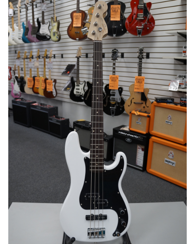 Fender® Squier® Affinity Series™ Precision Bass® PJ Electric Bass - White