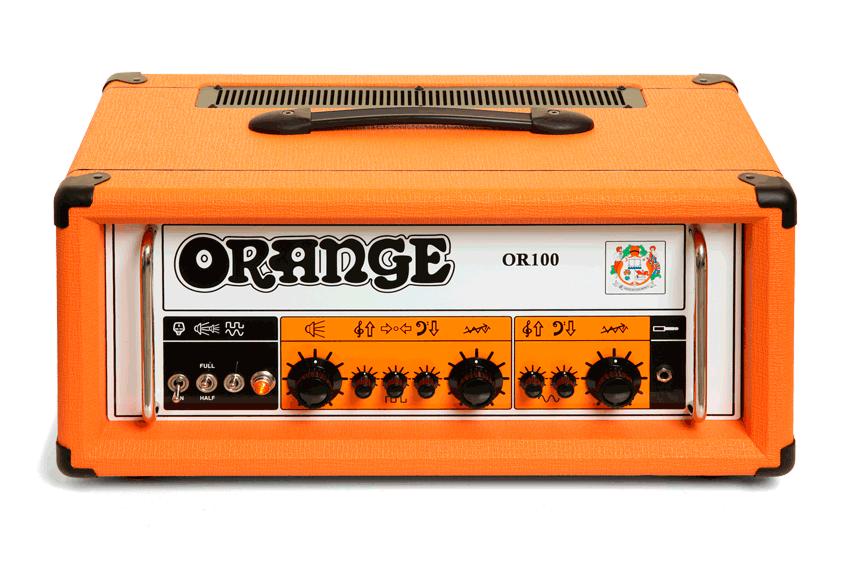 Orange OR100 100W Dual Channel Tube Guitar Head  Orange