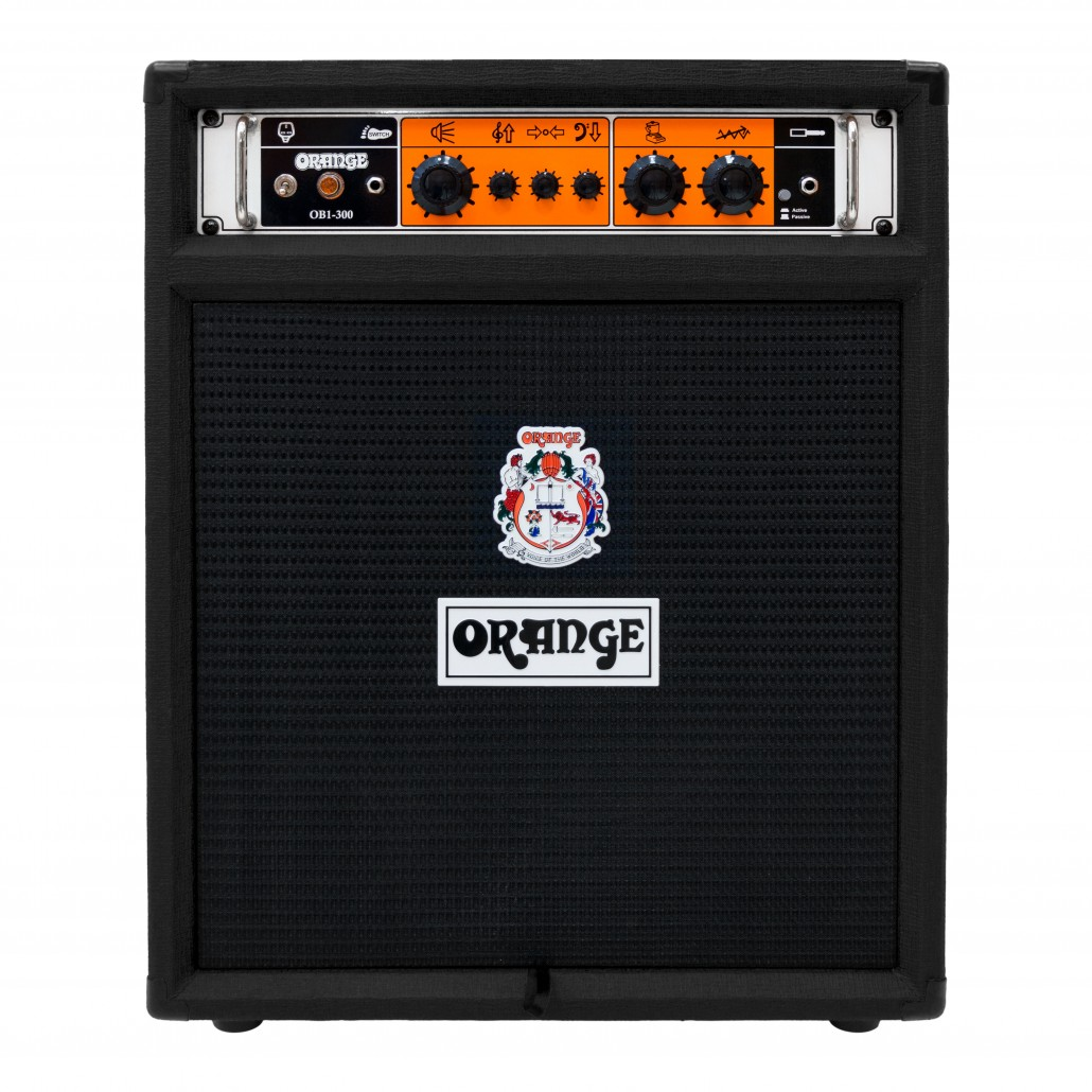 Orange OB1-300 Bass Guitar Amp Combo Black