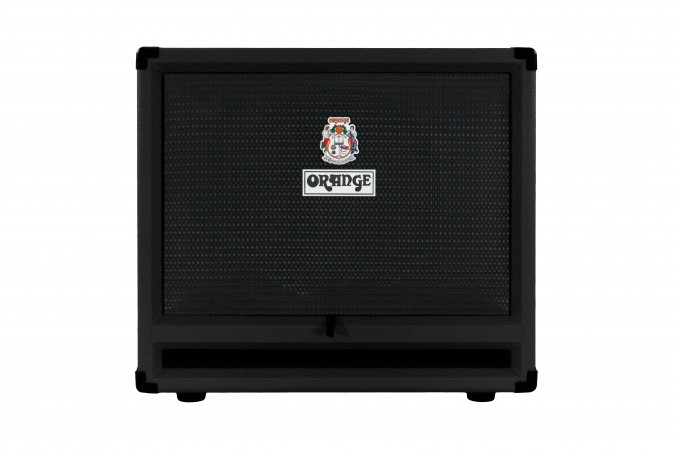 Orange OBC212 Black Isobaric Bass Guitar Speaker Cabinet