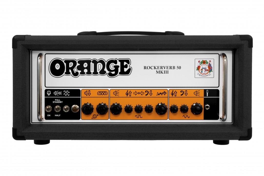 Orange Rockerverb 50 MKIII Black Guitar Amp Head
