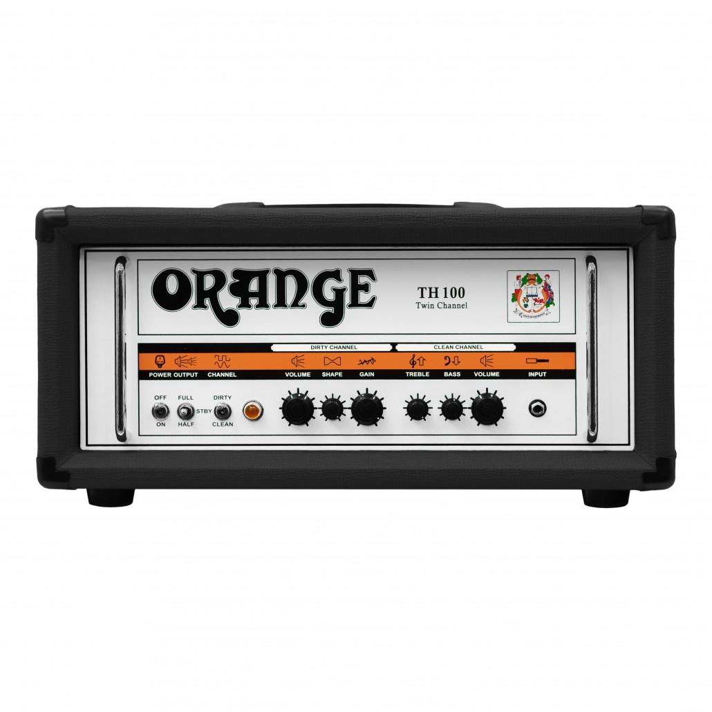 Orange TH100 100-Watt 2-Channel Black Guitar Tube Head