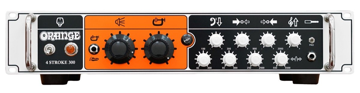 Orange 4 Stroke 300 Bass Guitar Amplifier Head