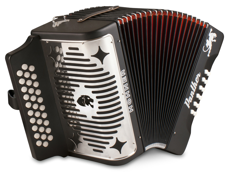 Hohner Panther Accordion GCF