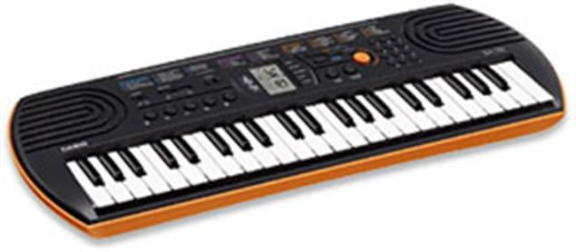 Casio SA-76 - 44-Key Mini Keyboard