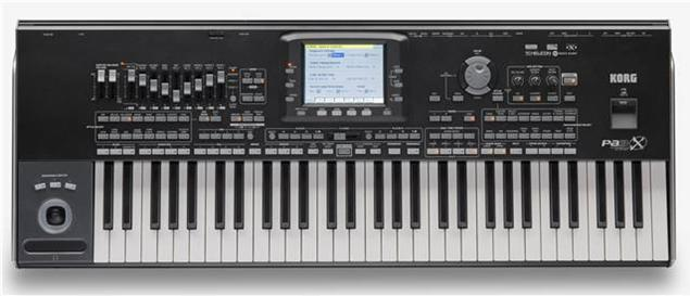 Korg Pa3X - 61-Key Professional Arranger Keyboard Workstation