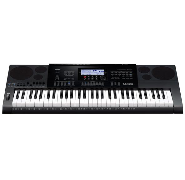 Casio - CTK-7200 61-Key Portable Digital Piano - Black