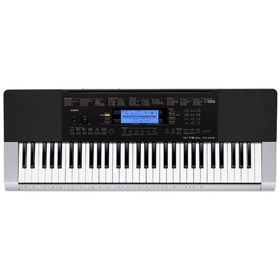 Casio - CTK-4400 61 Key Full Size Digital Keyboard