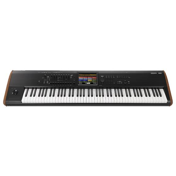 Korg Kronos 8 88 Key Workstation w/TouchView Display and Onboard Effects.