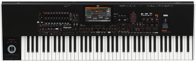 Korg Pa4X Professional Arranger, 76 Key - Black