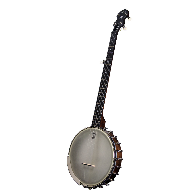 Deering Vega® Senator 5-String Banjo Left-Handed w/ True Tone Tailpiece