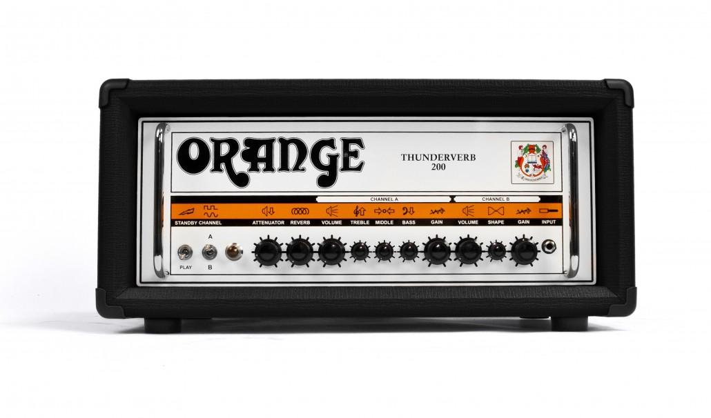 Orange Thunderverb 200 Black Guitar Amp Head