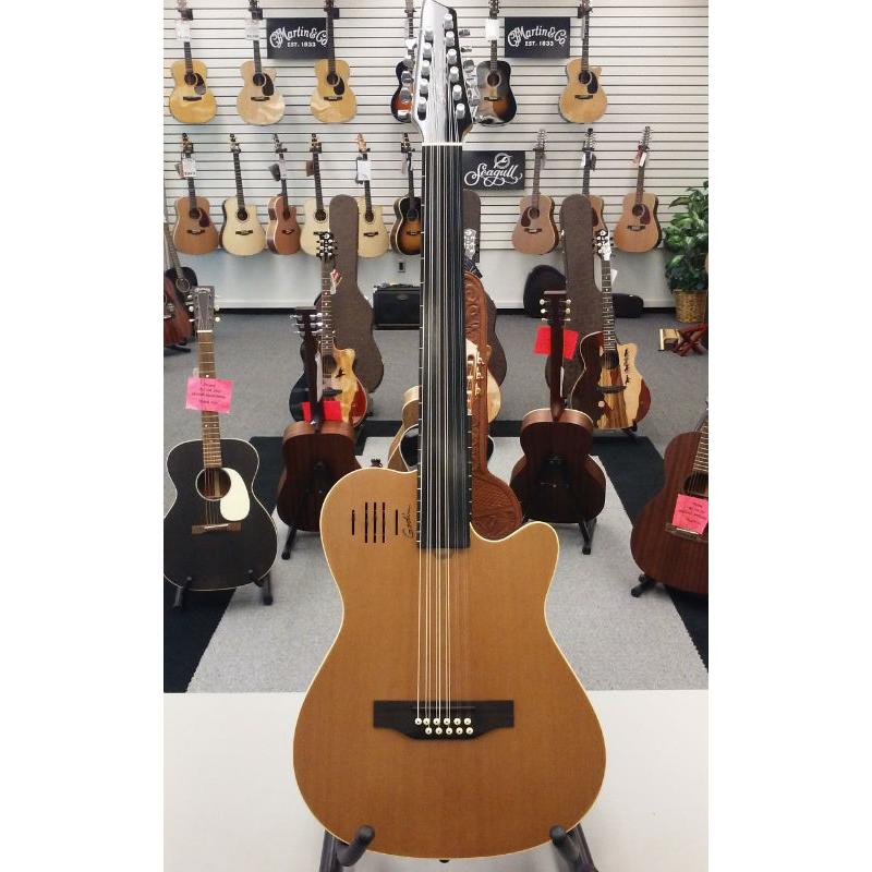 Godin A-11 Glissentar A/E Guitar - Natural
