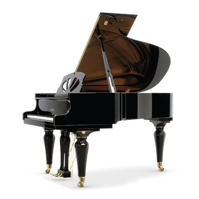 Schimmel Meisterstucke Art Noveau Grand Piano - Ebony High Gloss