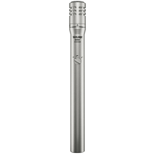 Shure SM81 Instrument Microphone
