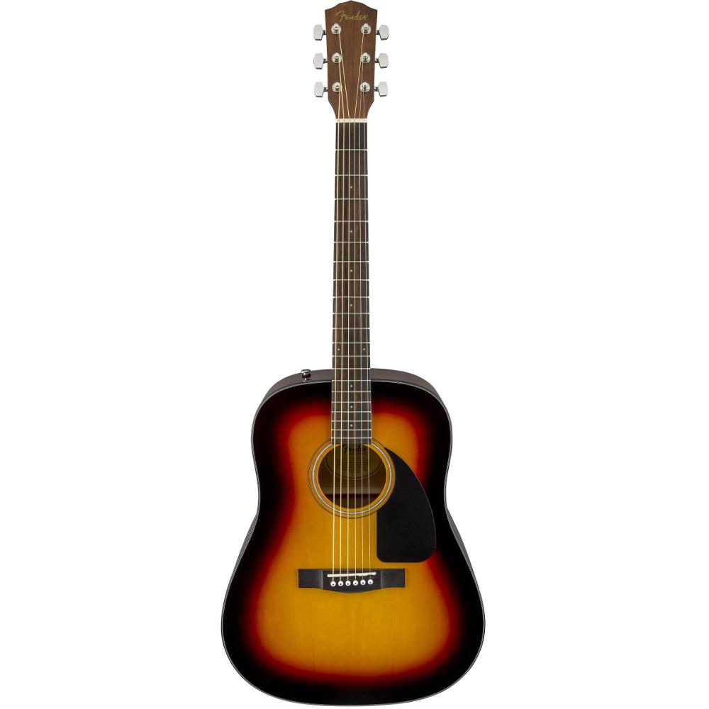 Fender CD-60CE Sunburst Acoustic Electric Guitar w/ Case